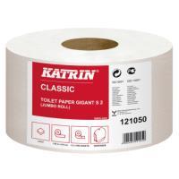 Toaletní papír Jumbo dvouvrstvý Katrin S2 ø 19 cm 12 ks