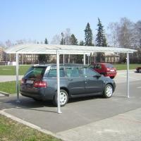 Univerzální přístřešek pro kola, auto, popelnice a kontejnery