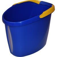 Vědro oválné modro - žluté, 12 l Spokar