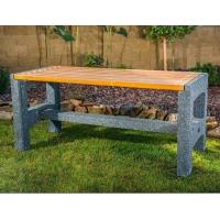 Venkovní betonový stůl Radan