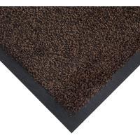 Vstupní čistící rohož COBAwash černo-hnědá 0,85 m x 1,2 m