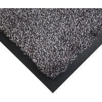 Vstupní čistící rohož COBAwash černo-ocelová 1,15 m x 1,75 m