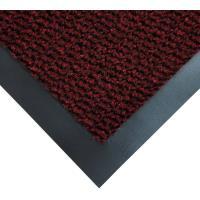 Vstupní rohož COBA Vyna-Plush černo-červená 1,2 m x 1,8 m