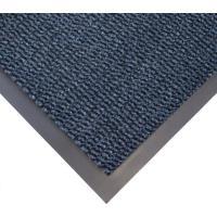 Vstupní rohož COBA Vyna-Plush černo-modrá 0,9 m x 1,5 m