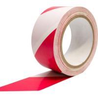 Vyznačovací podlahová páska COBAtape 50mm x 33m bílo-červená