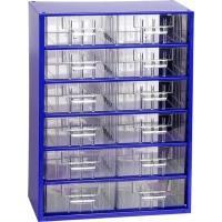 Závěsná skříňka se zásuvkami 12B modrá
