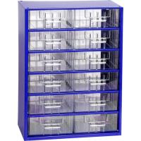 Závěsná skříňka se zásuvkami 12S modrá