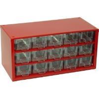 Závěsná skříňka se zásuvkami 15A červená