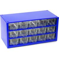 Závěsná skříňka se zásuvkami 15M modrá