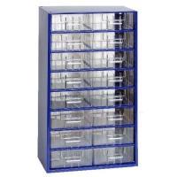 Závěsná skříňka se zásuvkami 16B modrá