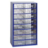 Závěsná skříňka se zásuvkami 16S modrá