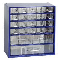 Závěsná skříňka se zásuvkami 20M/2S/1V modrá