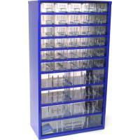 Závěsná skříňka se zásuvkami 30A/6B/1C modrá