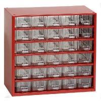 Závěsná skříňka se zásuvkami 30A červená