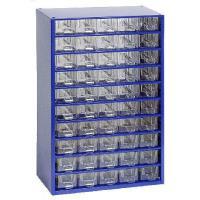 Závěsná skříňka se zásuvkami 50A modrá