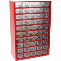 Závěsná skříňka se zásuvkami 50M červená