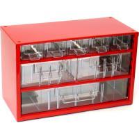 Závěsná skříňka se zásuvkami 5A/2B/1C červená