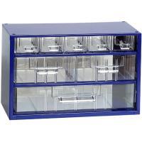 Závěsná skříňka se zásuvkami 5A/2B/1C modrá