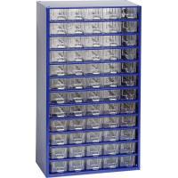 Závěsná skříňka se zásuvkami 60A modrá