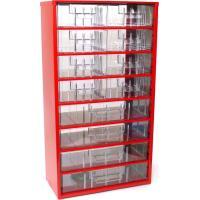 Závěsná skříňka se zásuvkami 8B/4C červená