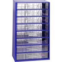 Závěsná skříňka se zásuvkami 8C modrá