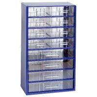 Závěsná skříňka se zásuvkami 8S/4V modrá