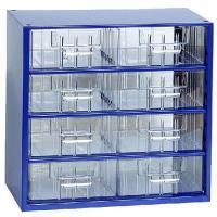 Závěsná skříňka se zásuvkami 8S modrá