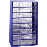 Závěsná skříňka se zásuvkami 8V modrá