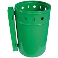 Závěsný odpadkový koš 20l zelený