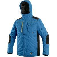 Zimní bunda Canis BALTIMORE středně modrá-černá, vel. XL