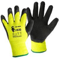 Zimní pracovní rukavice Canis ROXY WINTER černo žluté vel. 08 1894141b14