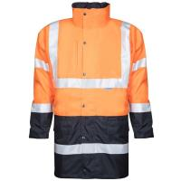 Zimní reflexní bunda Ardon HI-VIZ 4v1 oranžovo-modrá, vel. L