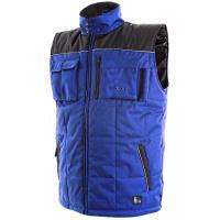 Zimní vesta Canis SEATTLE modro-černá, vel. M