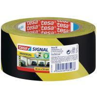 Značkovací páska TESA černo-žlutá