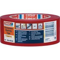 Značkovací páska TESA Flex Premium 33 m x 50 mm červená 180 µm