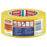 Značkovací páska TESA Flex Premium 33 m x 50 mm žlutá 180 µm