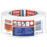 Značkovací páska TESA Flex Premium bílá PVC 180 µm