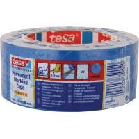 Značkovací páska TESA Flex Premium modrá PVC 180 µm